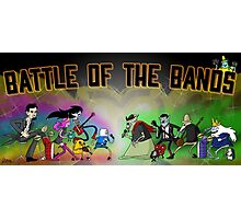Battle of the Bands Photographic Print