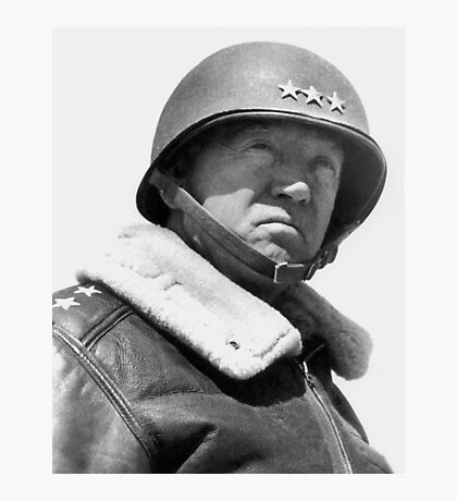 General George Patton Photographic Print