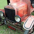 1919 Ford antique fire engine by mstinak