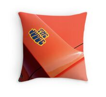 The Judge - Tilted Throw Pillow