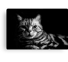 Spike Black and White Canvas Print