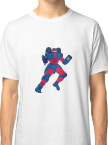 Mecha Robot Aiming Gun Isolated Classic T-Shirt