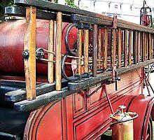 antique wood ladder  by mstinak