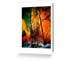 Heart of Fire...Autumn Greeting Card