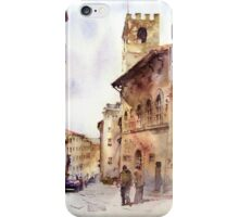 Italy oldtown Arezzo iPhone Case/Skin