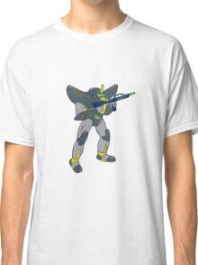 Mecha Robot Holding Ray Gun Isolated Classic T-Shirt