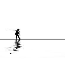 Vietnamese fisherman by Geraldine Lefoe