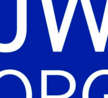 JW.ORG (Red/Heavy White Border) Sticker