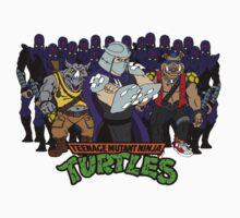 TMNT - Foot Soldiers 02 with Shredder, Bebop & Rocksteady - Teenage Mutant Ninja Turtles Kids Clothes
