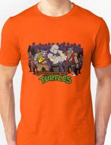TMNT - Foot Soldiers 02 with Shredder, Bebop & Rocksteady - Teenage Mutant Ninja Turtles Unisex T-Shirt