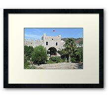 Marmaris Castle Framed Print