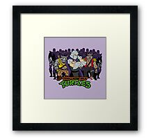 TMNT - Foot Soldiers 02 with Shredder, Bebop & Rocksteady - Teenage Mutant Ninja Turtles Framed Print