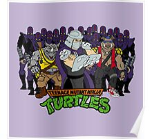 TMNT - Foot Soldiers 02 with Shredder, Bebop & Rocksteady - Teenage Mutant Ninja Turtles Poster