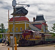 """North Conway Scenic Railroad Station"" - Conway Scenic RR Series - © 2009 by Jack McCabe"