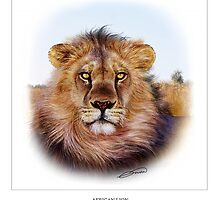 AFRICAN LION 2 by DilettantO