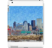 Boston Skyline iPad Case/Skin