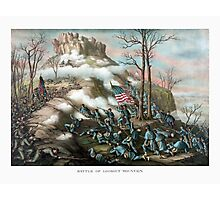 Battle of Lookout Mountain -- Civil War Photographic Print