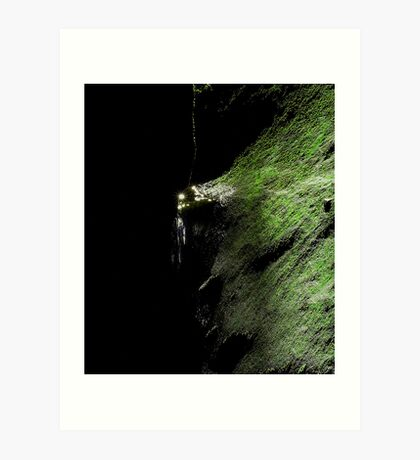In a Secret World... Valley of the Waters Wentworth Falls Art Print