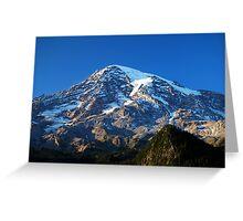 Blue Rainier Greeting Card