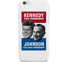 Kennedy And Johnson 1960 Election iPhone Case/Skin