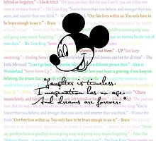 disney quotes by iheartcory