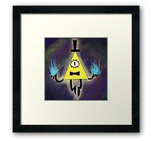 GF- Bill Cipher Framed Print