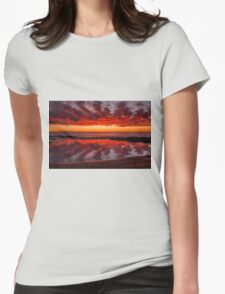 Rock Pool Reflections Womens Fitted T-Shirt