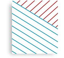 US Lines Canvas Print