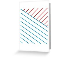 US Lines Greeting Card