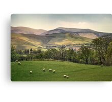 Over The Hills And Far Away Canvas Print