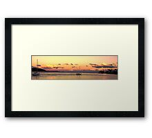 One Morning Framed Print
