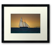 Racing the Wind Framed Print