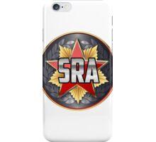 Socialist Rifle Association crest iPhone Case/Skin