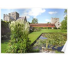 The Master's Garden, Hospital of St Cross, Winchester, southern England, especially good as a card Poster
