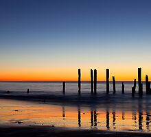 Pt. Willunga Jetty by Dale Allman