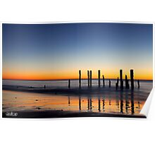 Pt. Willunga Jetty Poster