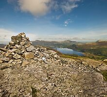Cairn at Blea Crag by eddiej
