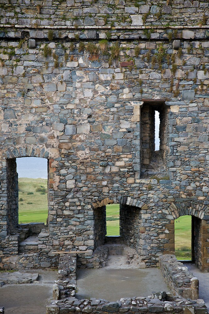 Harlech Windows by Christopher Bookholt