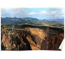 Royal Gorge Bridge 4 Poster