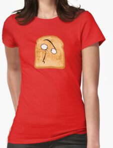 I Like Buttered Toast Womens Fitted T-Shirt