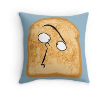 I Like Buttered Toast Throw Pillow
