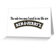Ben and Jerry's Greeting Card