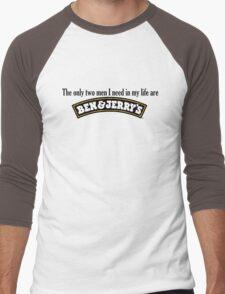 Ben and Jerry's Men's Baseball ¾ T-Shirt