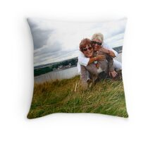 Last moments Throw Pillow