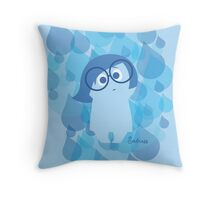 Inside Out - Sadness Throw Pillow