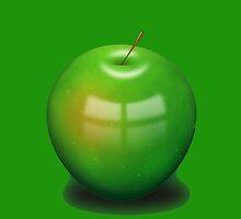 Green Apple by John Bauder