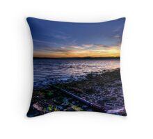 Craigendoran Sunset Throw Pillow