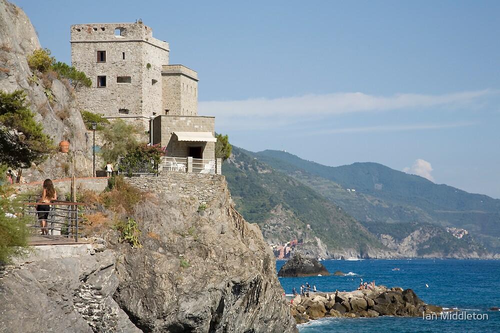 Monterosso al mare, Cinque Terre, Italy by Ian Middleton