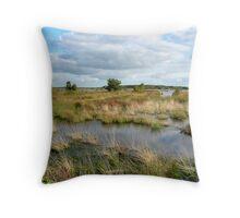 Wetlands Fochteloerveen Throw Pillow