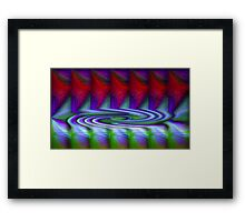 Creation Of A Vortex (Abstract) Framed Print